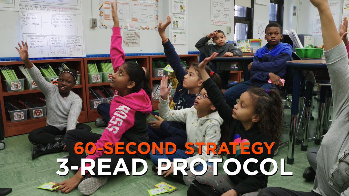 """""""I read. They read. We read together."""" This teacher—momentarily—takes out the numbers in math word problems and reads them as a story. Check out the results."""