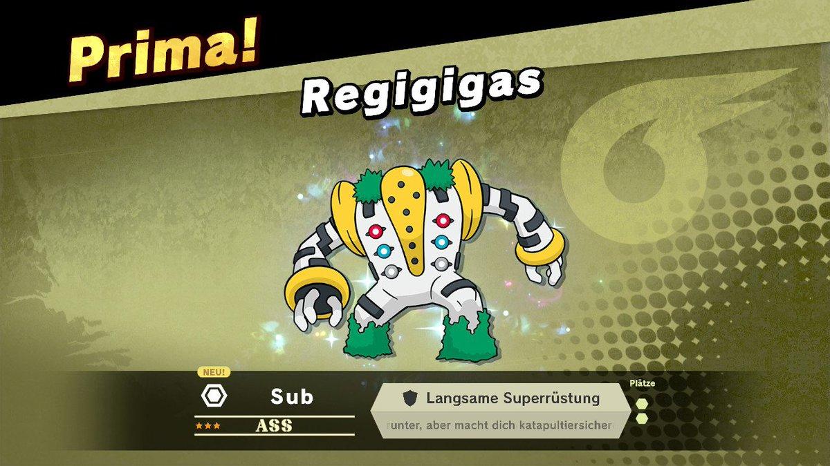 Regigs! #SmashBros #SmashBrosUltimate #NintendoSwitch #Pokemon