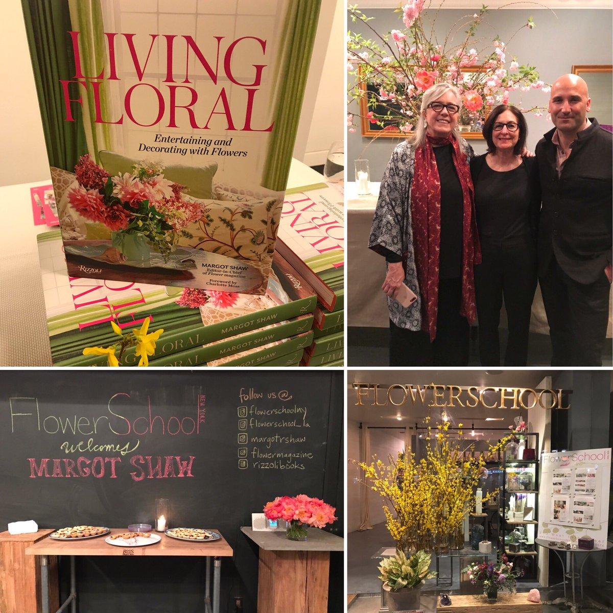 Barbara Haberman On Twitter Flowerschoolny And Flowermagazine