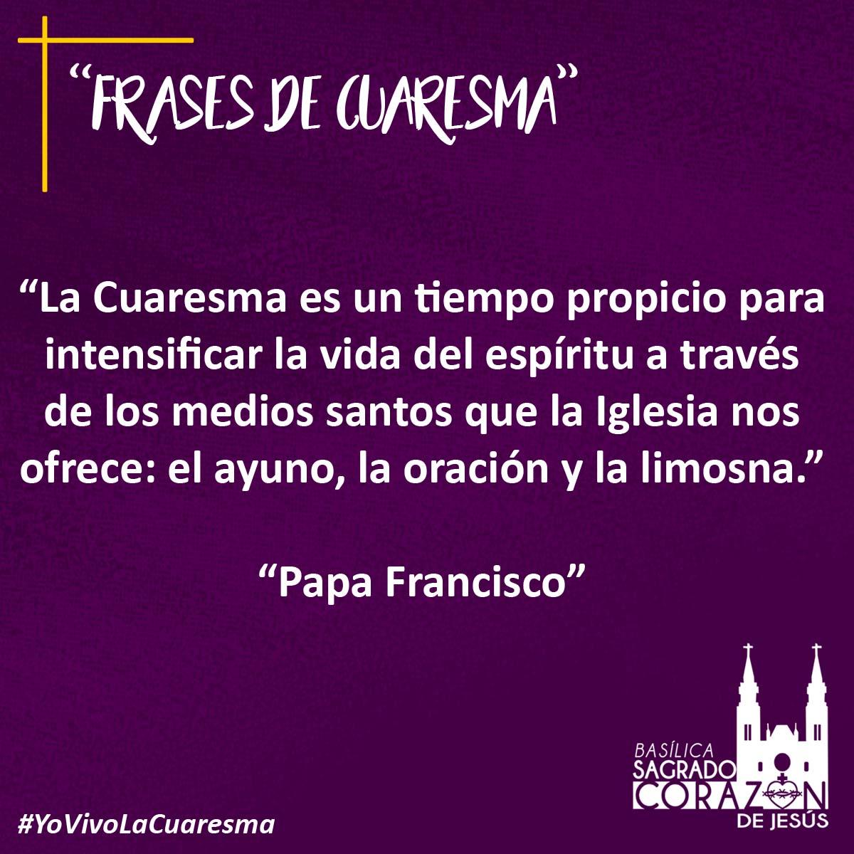Bsagradocorazon On Twitter Frases De Cuaresma