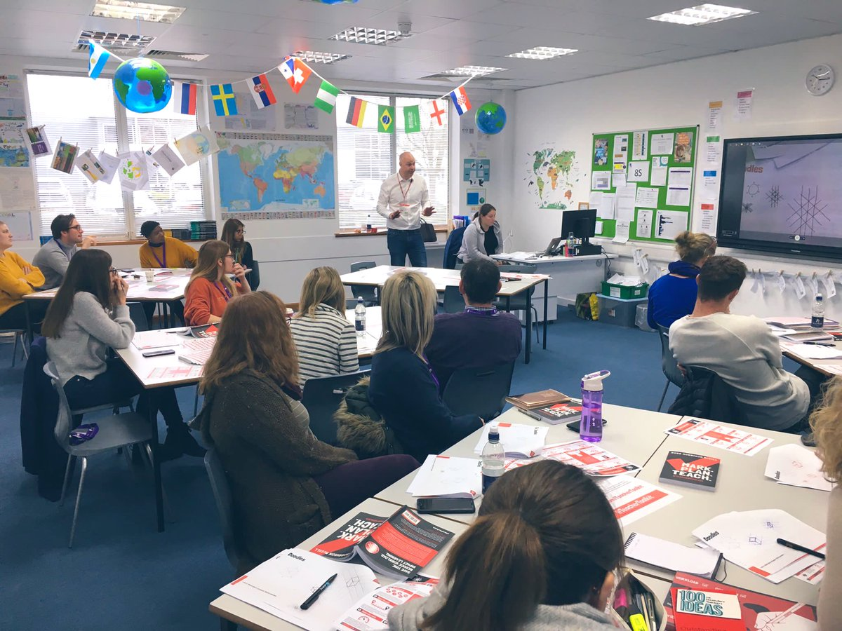 Working with @TheJohnRoan School and @croxleydanes School this week. Teachers who are working hard to make a difference to the lives of young people - enjoy your well-deserved Easter break. https://t.co/QvbIPRfS39
