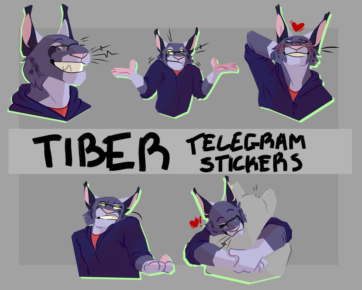 telegramstickers on JumPic com