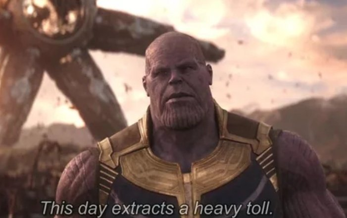 My reaction when I have to attend a dental camp on a national holiday! #PhdScenes #PublicHealthDentistry #Thanos #AvengersInfinityWar #AvengersEndgame #Marvel
