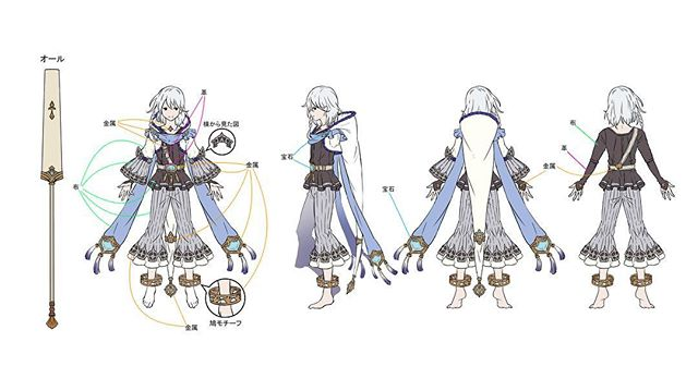 Via their Instagram, Cygames gives us the reference art for Noa! https://www.instagram.com/p/Bv3tURenxVD/