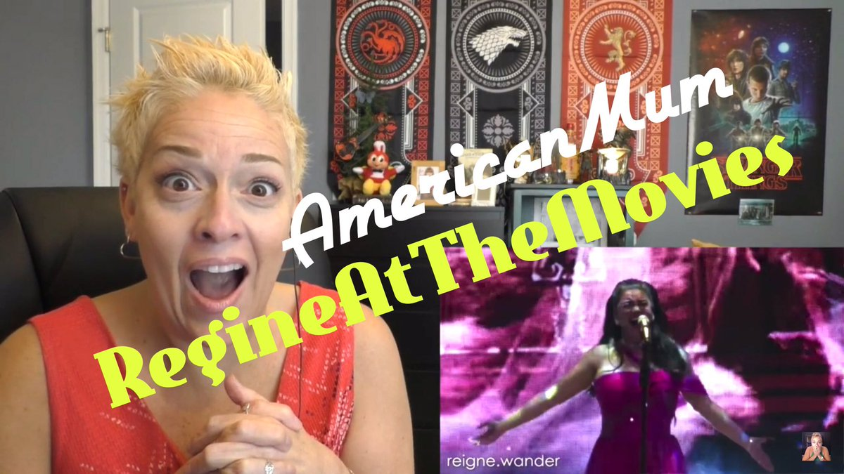 #RegineAtTheMovies  #AmericanMum  @mum_reacts  loves the song My Heart Will Go On AND the movie itself, TITANIC!!! Full reaction video:  https://m.youtube.com/watch?v=3KRaB6kG2LI  … 💜