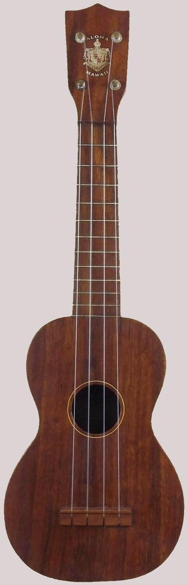 Aloha manufacturing C. Hawaiian Soprano Ukulele with Tabu stamp