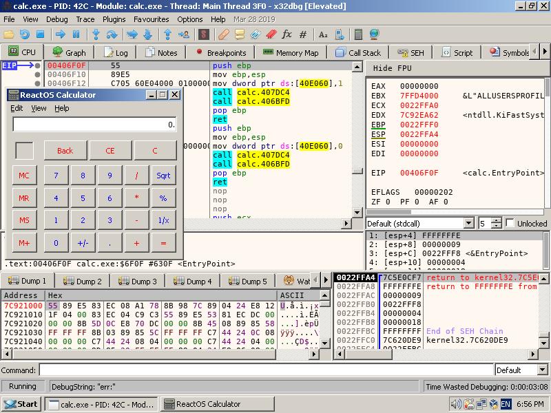X64dbg Commands