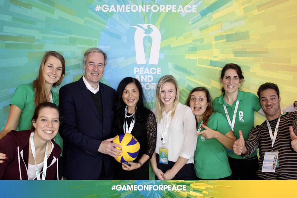 Sport has a unique power to build bridges and tear down walls, but peace building is not a spectator sport-we are all players on this pitch. Happy #IDSDP2019 #Sports4SDGs #GameonforPeace