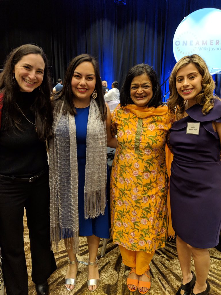 Proud to celebrate the strength of immigrant communities at #PeopleLikeUs dinner. Grateful for your leadership, @weareoneamerica!