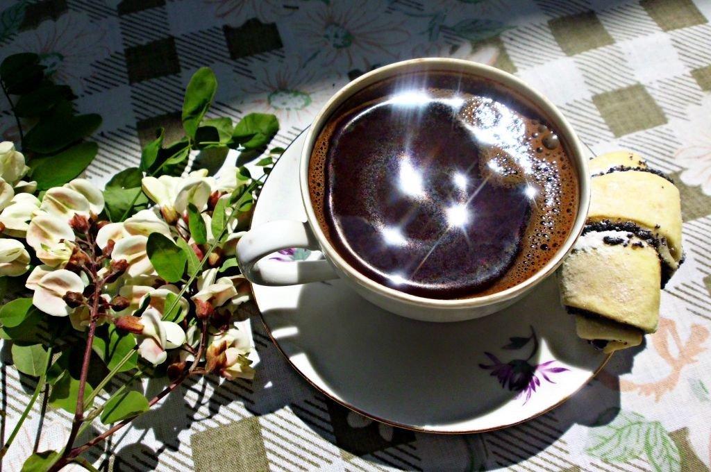 давление картинка доброе весеннее утро с чашкой кофе если говорить