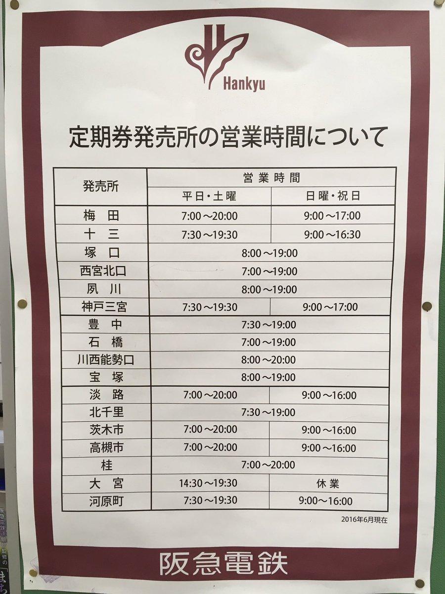 阪急 電車 定期 券
