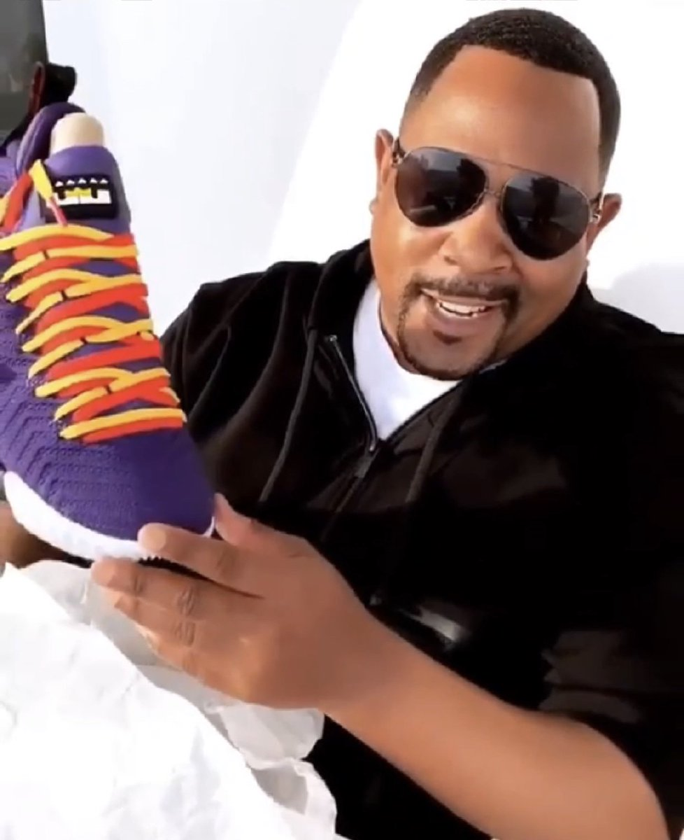 Martin Lawrence on getting 'Martin' LeBron 16: 'It means a lot to me'