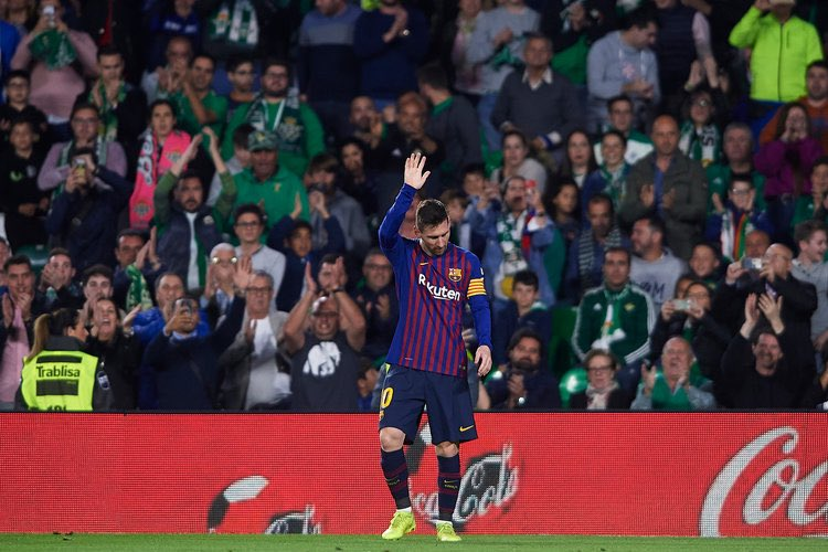 """Messi is the representation of """"work hard in silence, let your success make the noise"""". Everyone thinks he's just talent with no hard work, just because he doesn't post any pictures or videos of his trainings and muscles. Anyone with just talent wouldn't have reached his level."""
