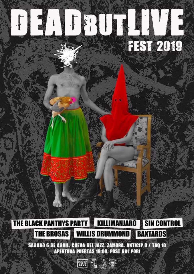 Fiestaca asegurada @deadbutlivefest #Festival #cultural #alternativo #Zamora @BlackPanthys @TheBrosas @info_willis @BaXtards  #KILLIMANJARO #Barcelos #Portugal #Rock #Heavy #Hard #Punk #HXC #Hardcore #HardRock #Stoner #Alternative