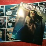 Image for the Tweet beginning: The first issue of #AmberBlake