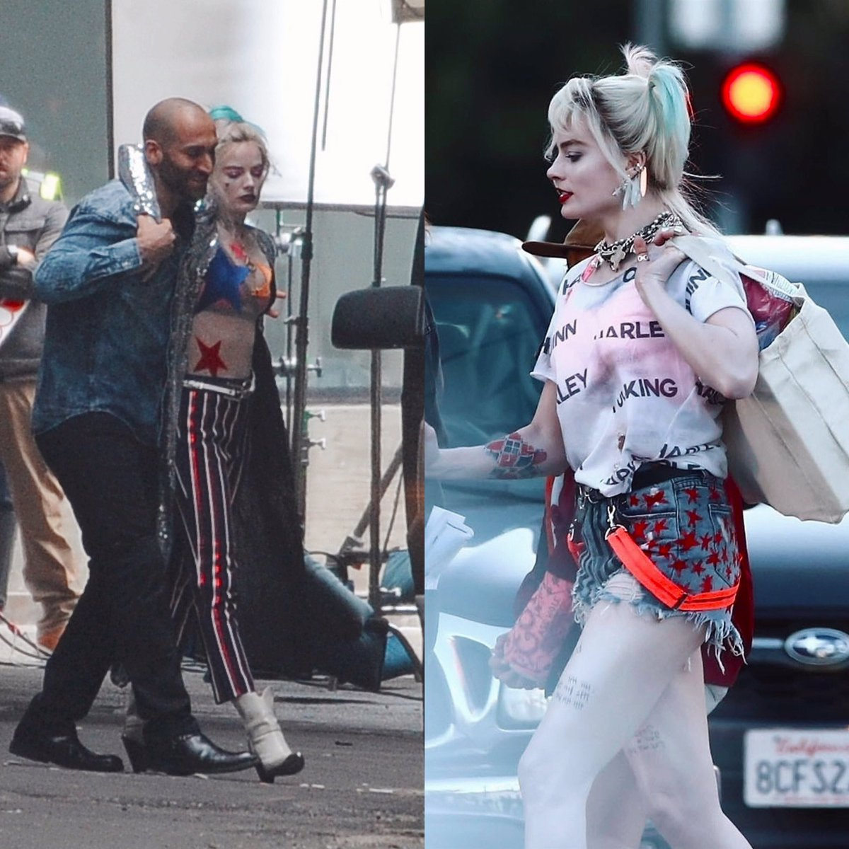 Courtney On Twitter Harley Quinn S Birds Of Prey Outfits