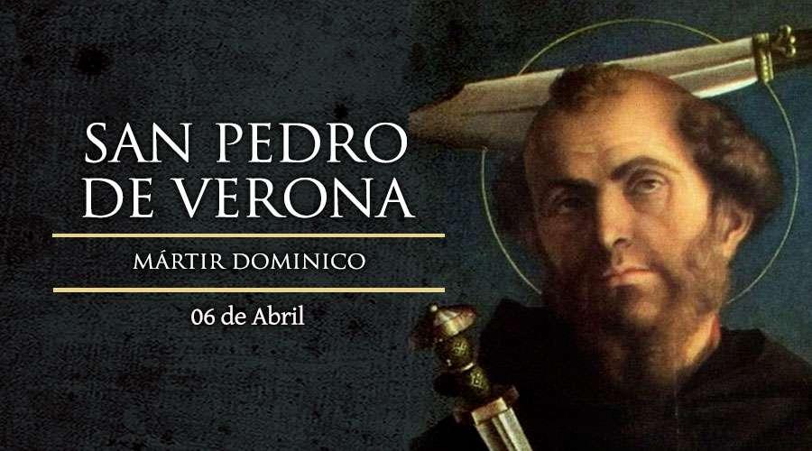 #Santoral | Hoy la Iglesia recuerda a San Pedro de Verona. Mártir. Patrono contra los atentados y robos