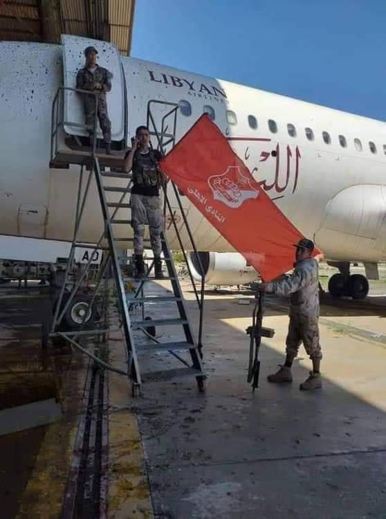 В Ливии объявлена бесполетная зона