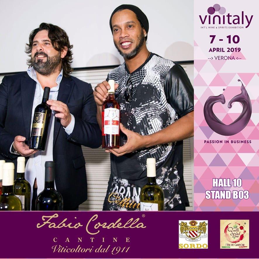 Vi aspettiamo numerosi per degustare i vini di @10Ronaldinho