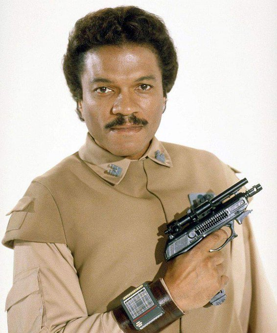 Happy Birthday to Billy Dee Williams who turns 82 today!  Pictured here as Lando Calrissian.