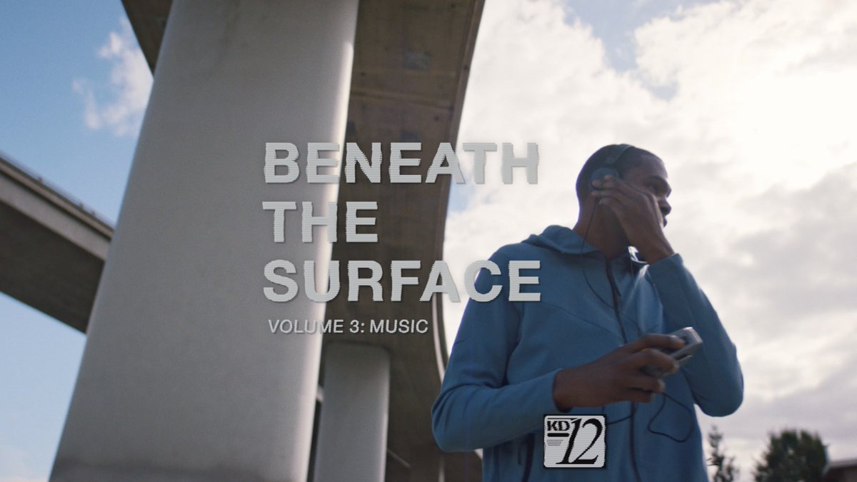 Beneath The Surface Vol 3: Music  @KDTrey5 reminisces on the importance of music and the soundtracks of his childhood.  Shop the KD12 now: http://swoo.sh/2UkmrVG #kd12 #nike