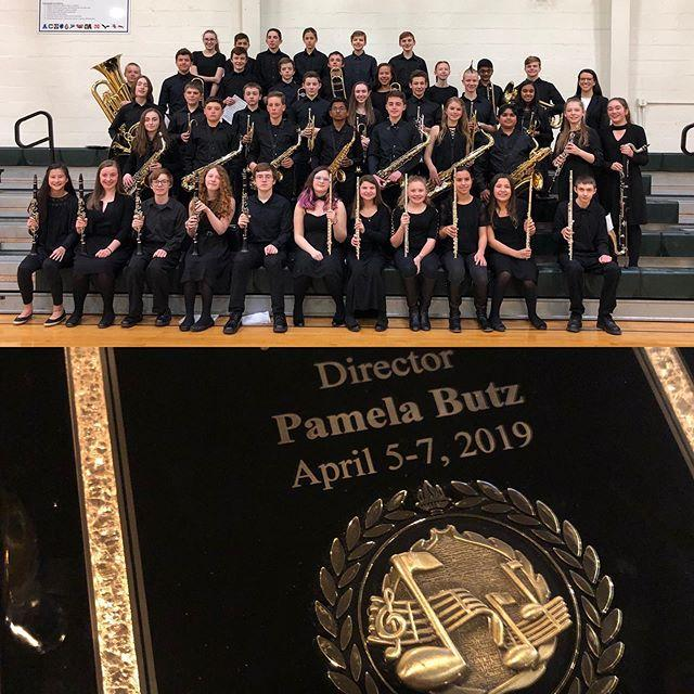 ASMS Symphony Band earns Gold medal at MICCA festival Friday night