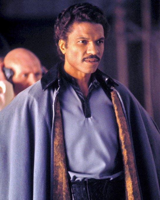 Happy Birthday to the original Lando Calrissian - Billy Dee Williams!