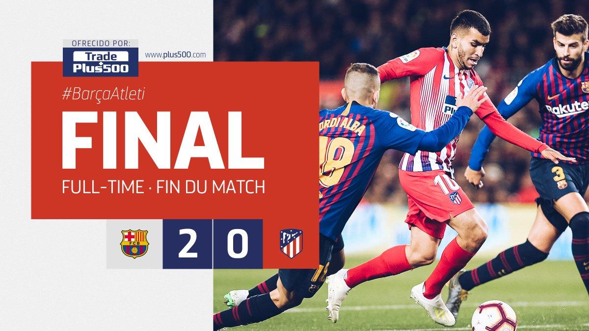 Barça-Atletico Madrid