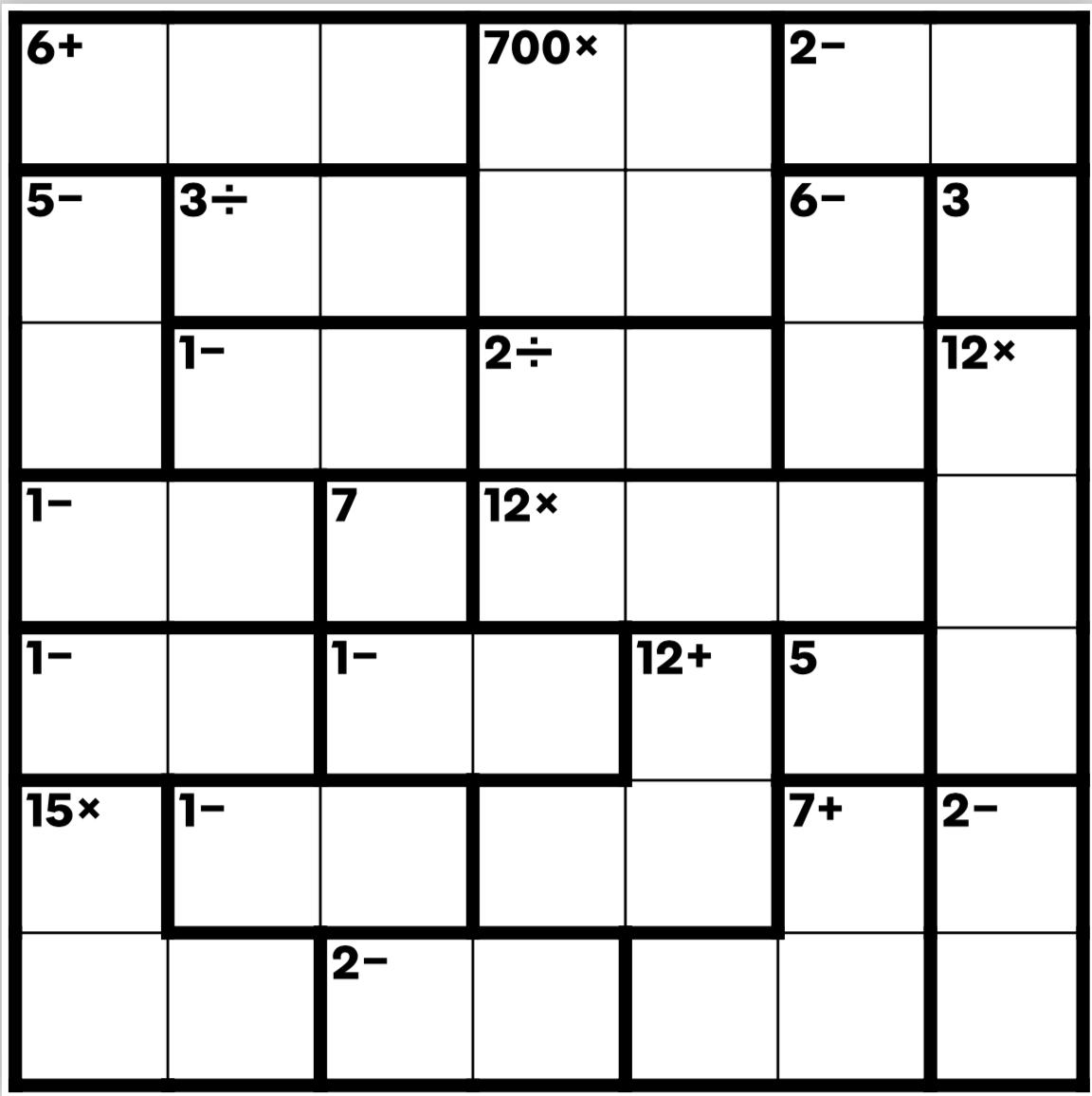 picture regarding Printable Kenken Puzzles 9x9 identify Dragons and soccer