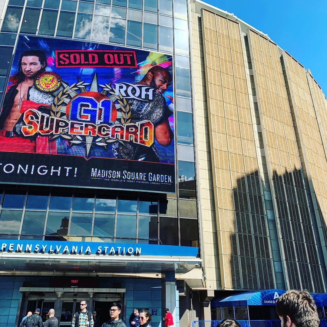 Today !! #G1SuperCard !! #NJPW #ROH #MSG #njpwworld <br>http://pic.twitter.com/fX2lq4qqVb