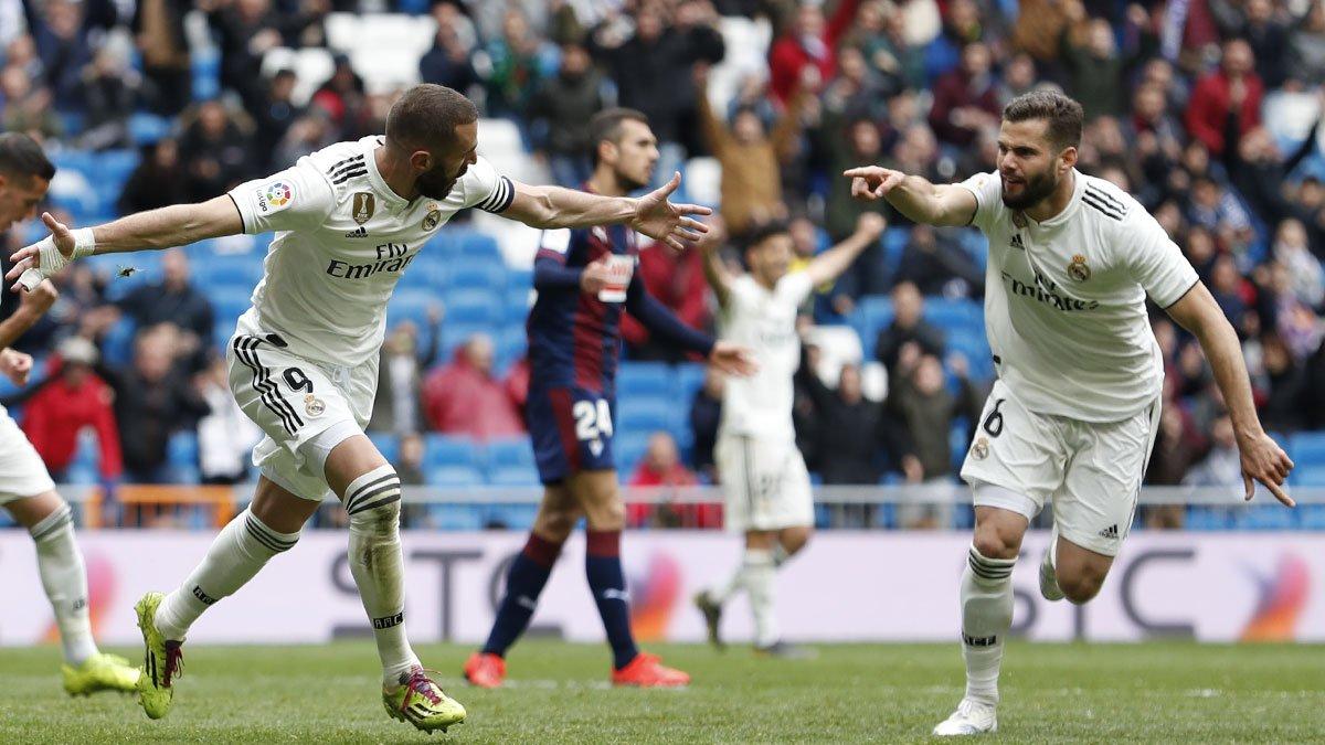 Xem lại Real Madrid vs Eibar, 21h15 ngày 6/4 (La Liga)