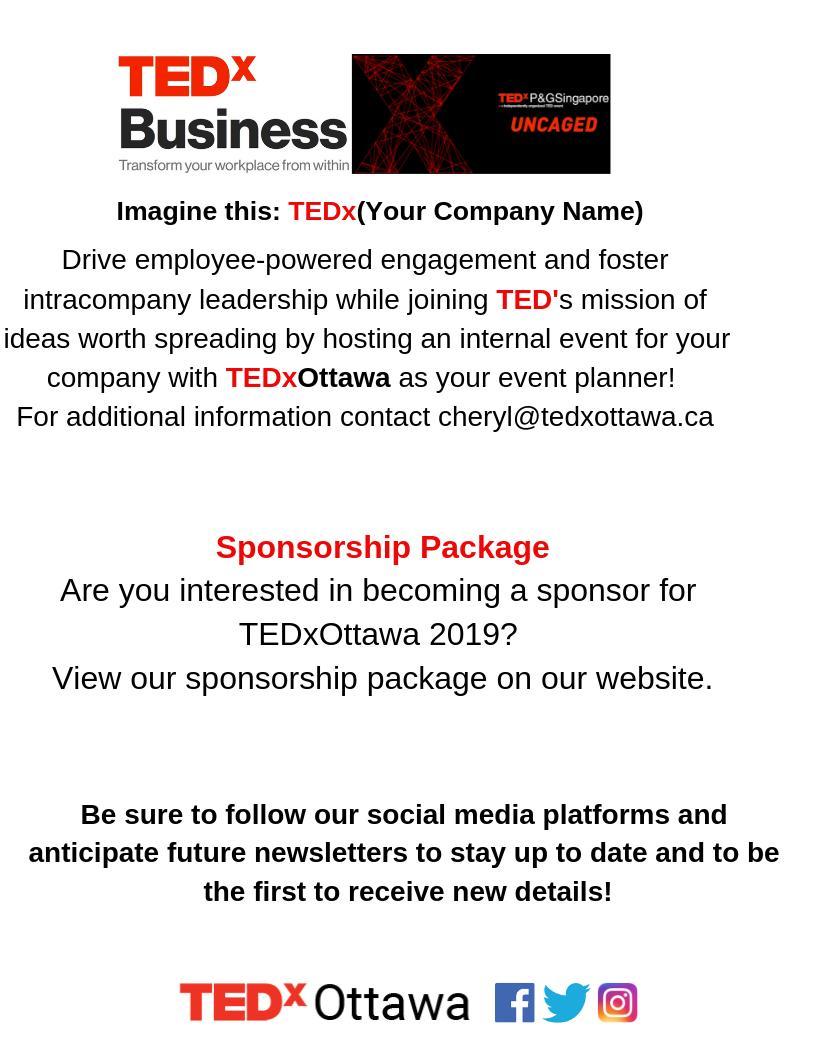 TEDxOttawa (@TEDxOTTAWA) | Twitter