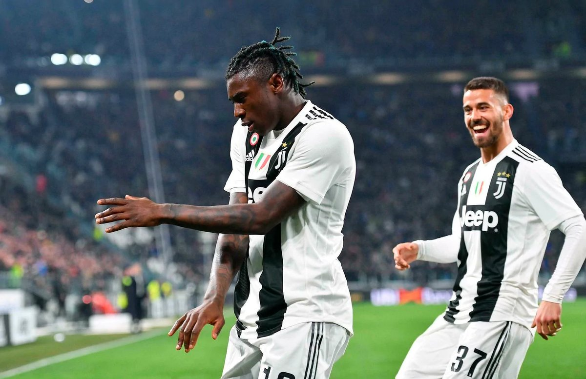 Football Tweet On Twitter Moise Kean Has Scored 7 Goals In His Last 7 Games For Club And Country Inspiration