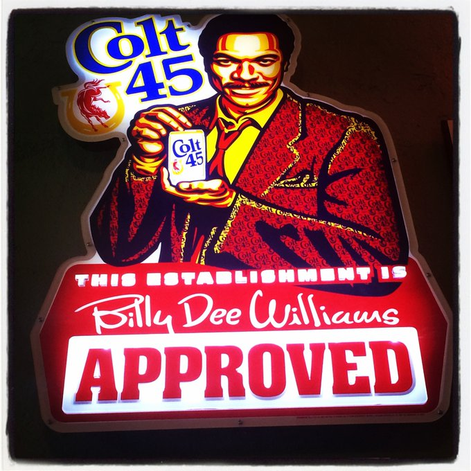 Happy Birthday to the great Billy Dee Williams!
