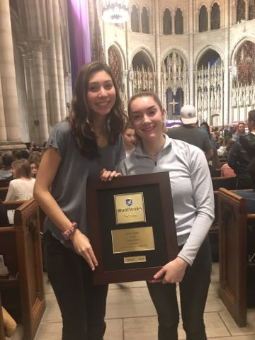 GOLD 2nd Place!!! So proud of the Yorktown Choirs and for Madeleine Cooper for receiving the Ovation Award out of all the students present! LETS GO PATRIOTS!! <a target='_blank' href='http://twitter.com/Principal_YHS'>@Principal_YHS</a> <a target='_blank' href='http://twitter.com/APSArts'>@APSArts</a> <a target='_blank' href='http://twitter.com/YorktownHS'>@YorktownHS</a> <a target='_blank' href='https://t.co/SUv9s5XKxM'>https://t.co/SUv9s5XKxM</a>
