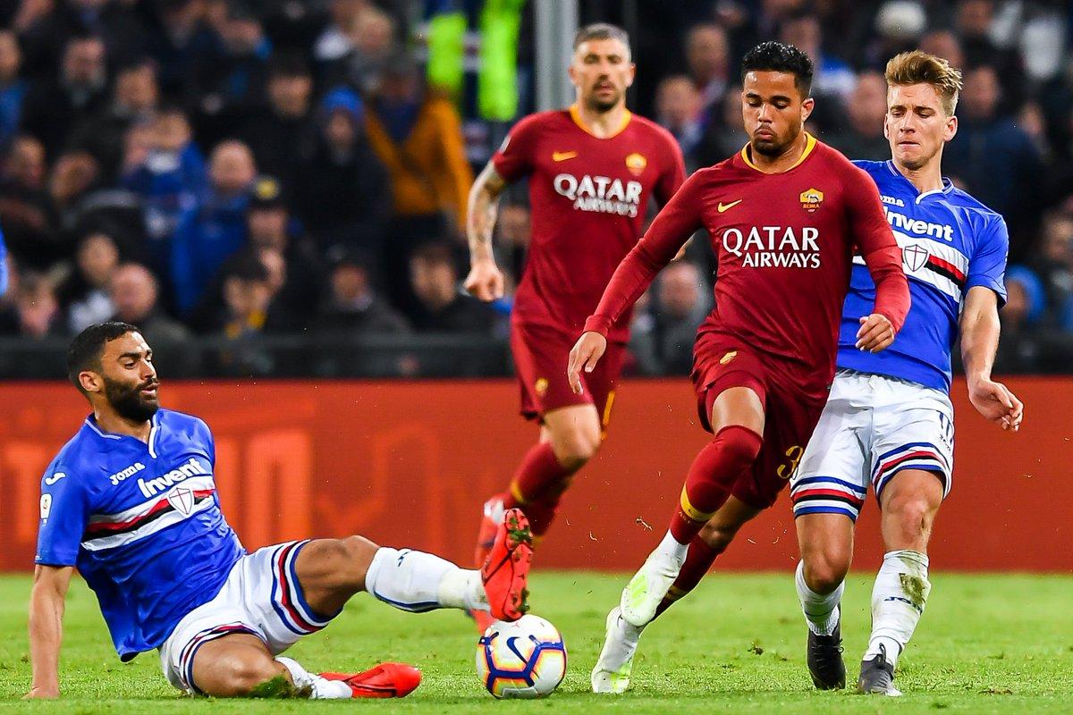 Sampdoria English's photo on De Rossi