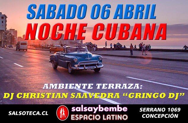 Salsaybembe On Twitter Noche Cubana Sábado 6 Abril