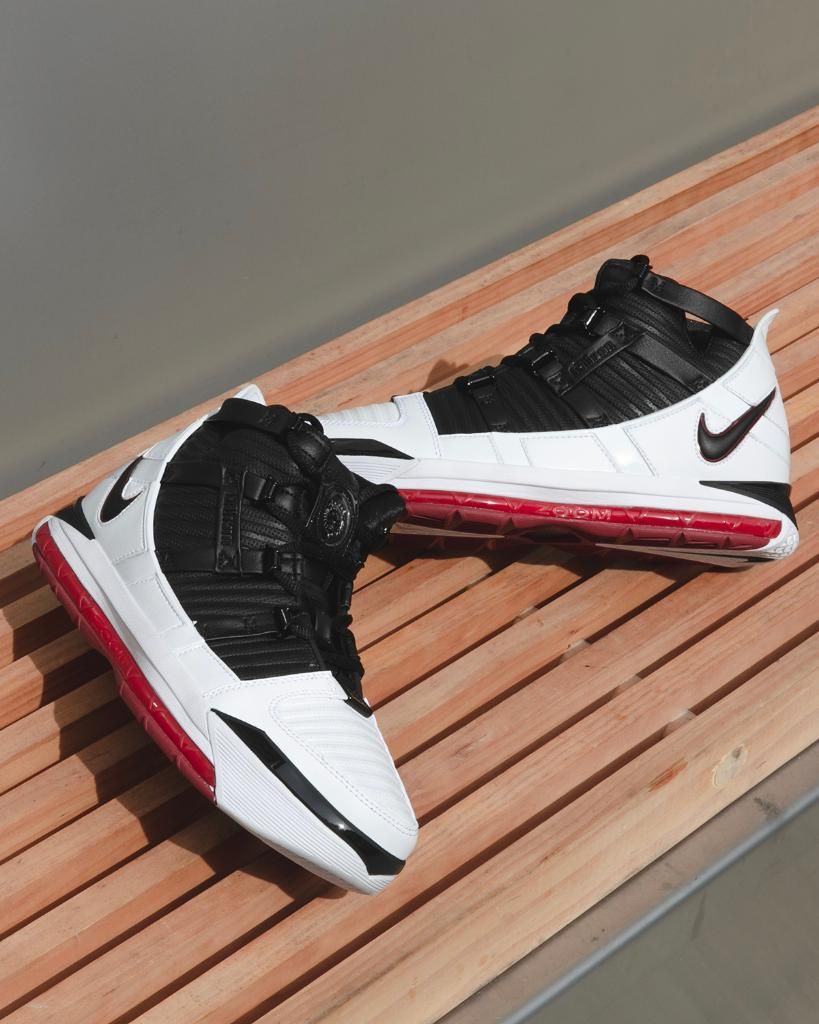 10947dd0d85 nostalgia circa 2005 nike zoom lebron 3 home launching 4 11 in store and  online