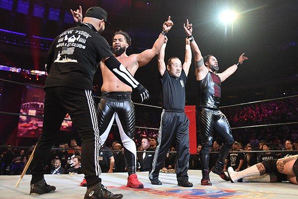 """NJPW/ROH: """"G1 Supercard"""" Grandiosa función en el MSG, Okada se corona 3"""