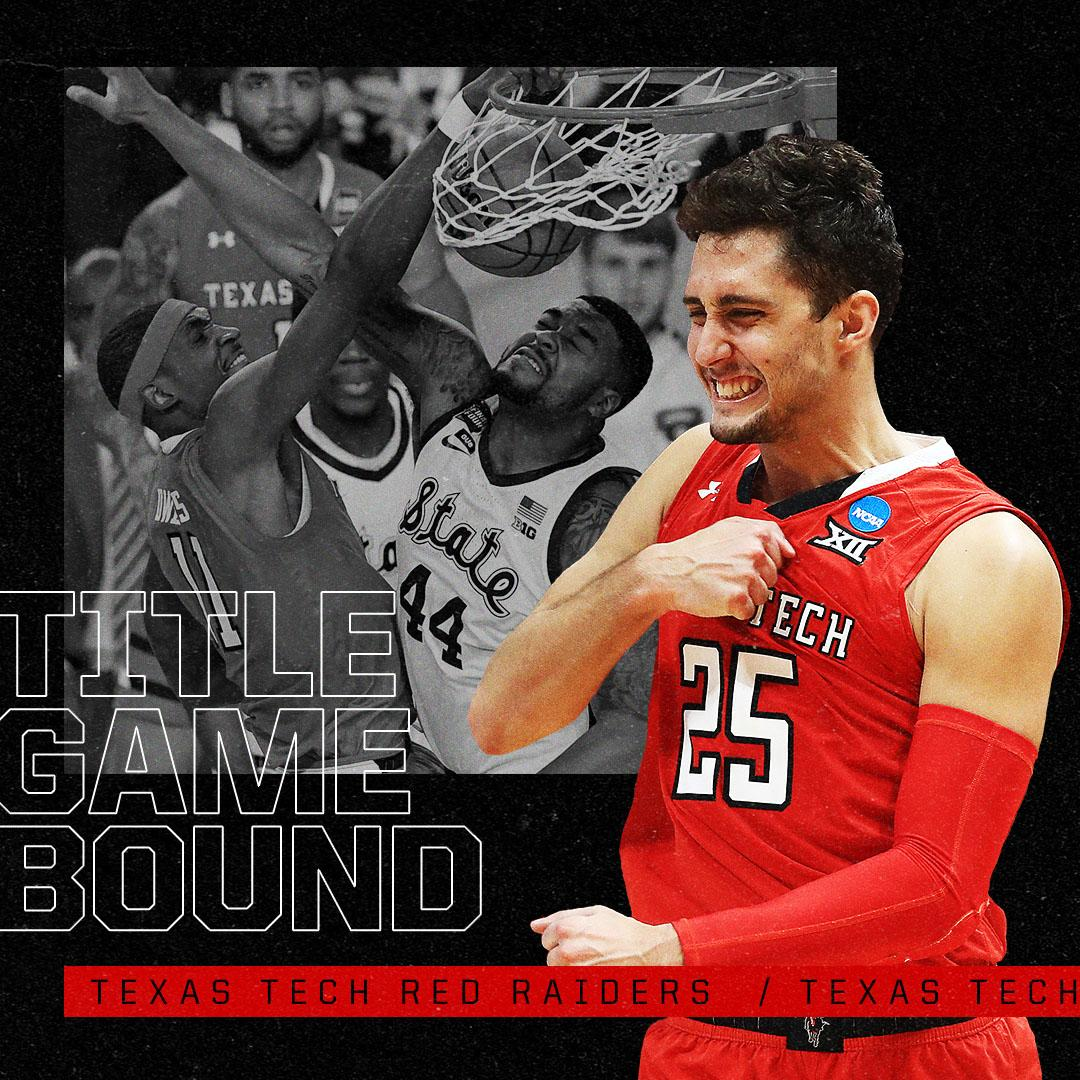 For the first time ever ... TEXAS TECH IS HEADED TO THE TITLE GAME! 🤠