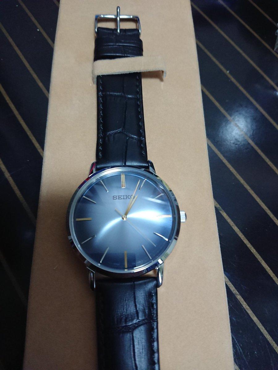 就職祝いで腕時計を頂きました