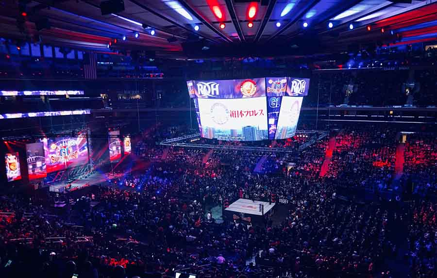 新日本プロレスリング株式会社営業部's photo on NJPW