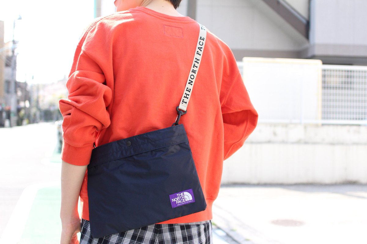 THE NORTH FACE PURPLE LABEL nanamica Lightweight Logo Tape Waist Bag Japan