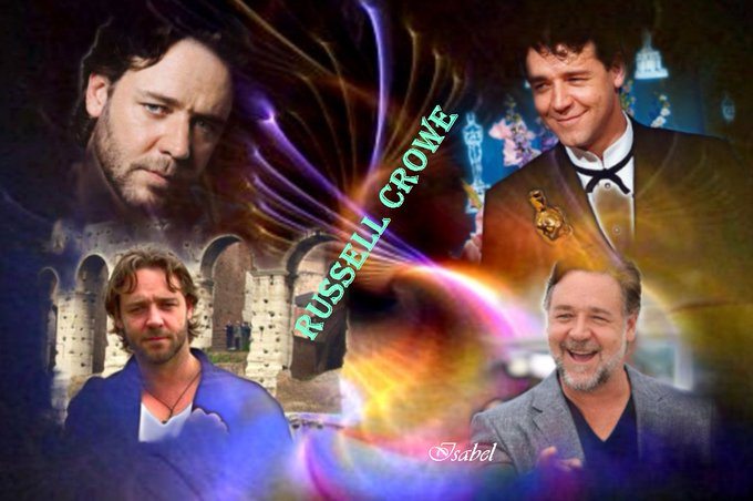 Happy 55th birthday, my admired respected and loved ... RUSSELL  CROWE