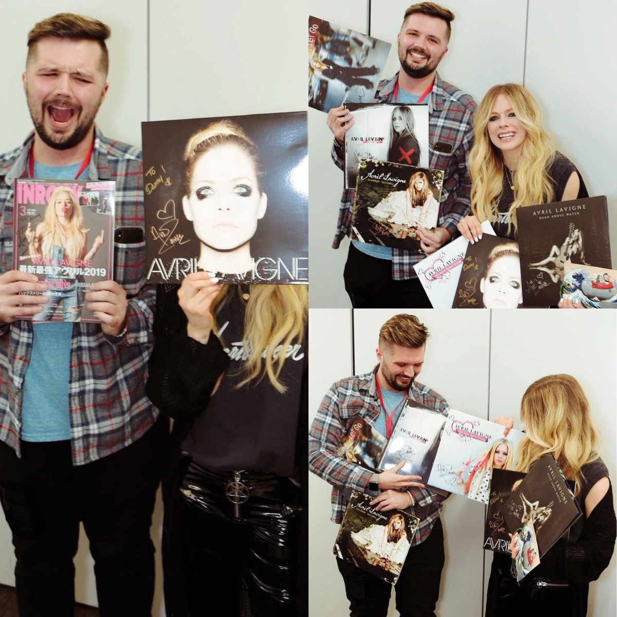Had an amazing time hanging out and being silly in Japan with my new best friend @avrillavigne hiiiiiiiiii 😂💚🌸🇯🇵 Thanks for the 📸's Dipple! #HeadAboveWater #TheAvrilLavigneFoundation