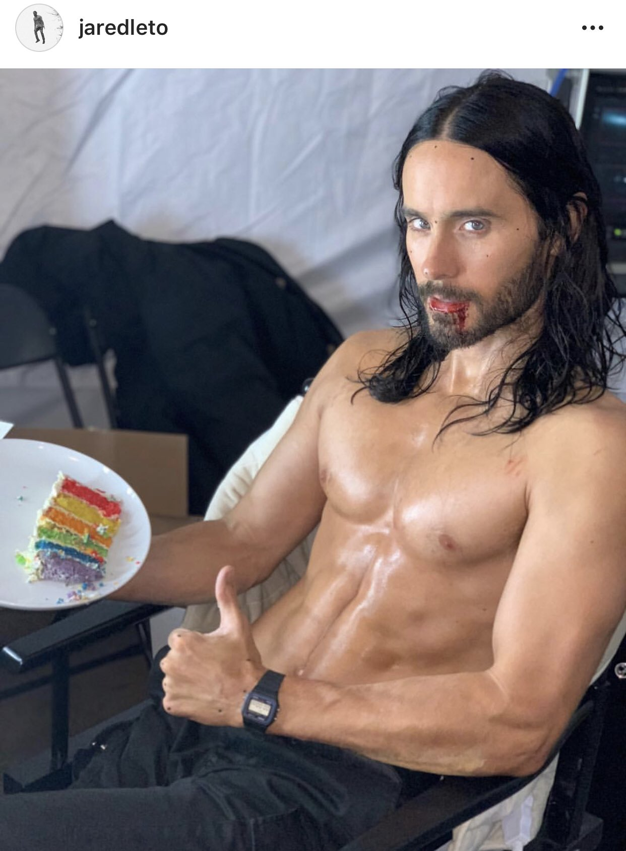 Mykie On Twitter Okay Look I M Not Saying Paul Rudd Doesn T Look Great At 50 But I Raise You With Jared Leto At 47