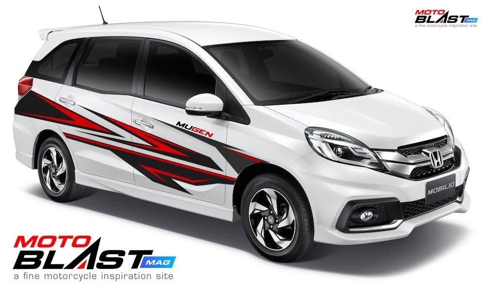 Car Series Modifikasi Striping Honda Mobilio Sporty Tweet Added By