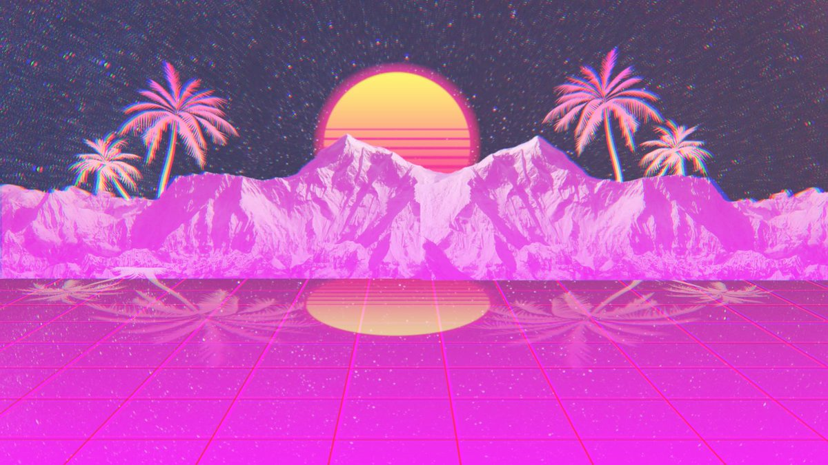 Swift On Twitter I Just Made Another Vaporwave Wallpaper
