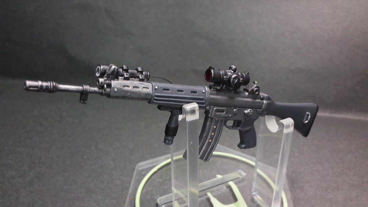 リトルアーモリー LS01 89式小銃  豊崎 恵那 ミッションパック プラモデルに関する画像8