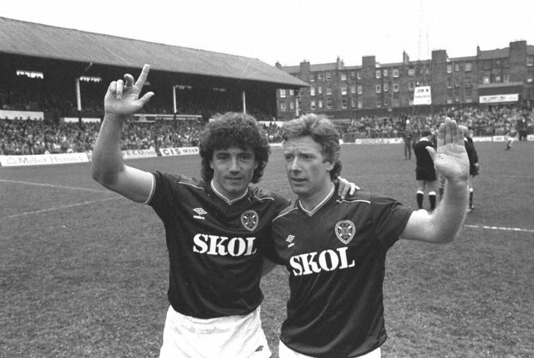 "St.Anthony on Twitter: ""Kevin Keegan appearing in Hearts colours alongside  Alex MacDonald in wee MacDonald's testimonial game at Tyncastle in 1984.…  https://t.co/B8Hp477Mwk"""